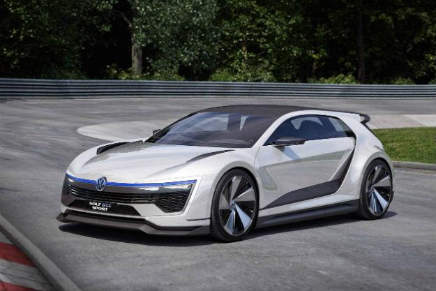 Volkswagen Golf GTE Sport Concept híbrido