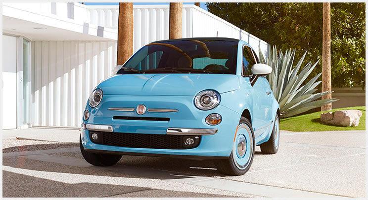 Fiat 500 1957 Edición San Remo 2015 México colores azul bajo frente