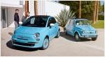 Fiat 500 1957 Edición San Remo 2015 México colores azul con modelo original clásico