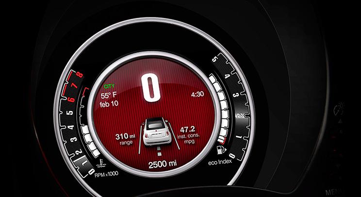 """Fiat 500 1957 Edición San Remo 2015 México pantalla a color de 7"""""""