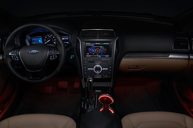 Ford Explorer 2016 interior