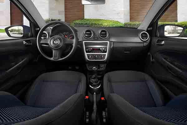 VW Gol 2016 interior