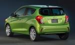 Chevrolet Spark 2016 México posterior cajuela detalle