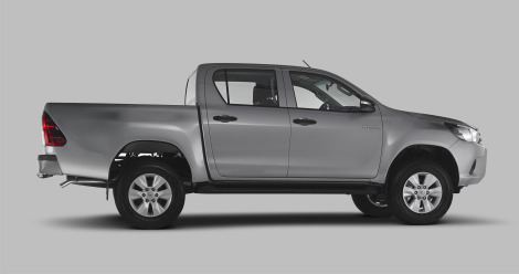 Toyota Hilux 2016 vista lateral