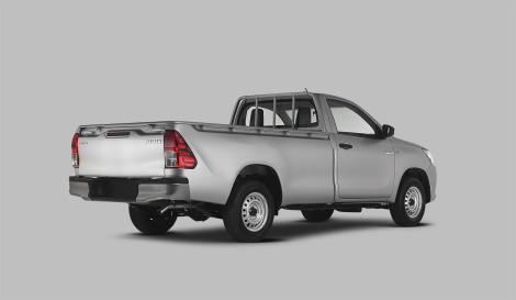 Toyota Hilux 2016 vista posterior