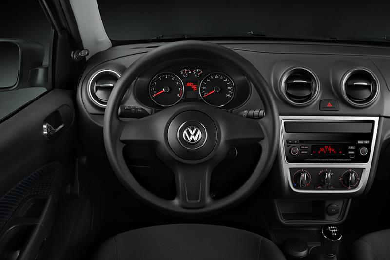 Volkswagen Gol Track 2016 interior