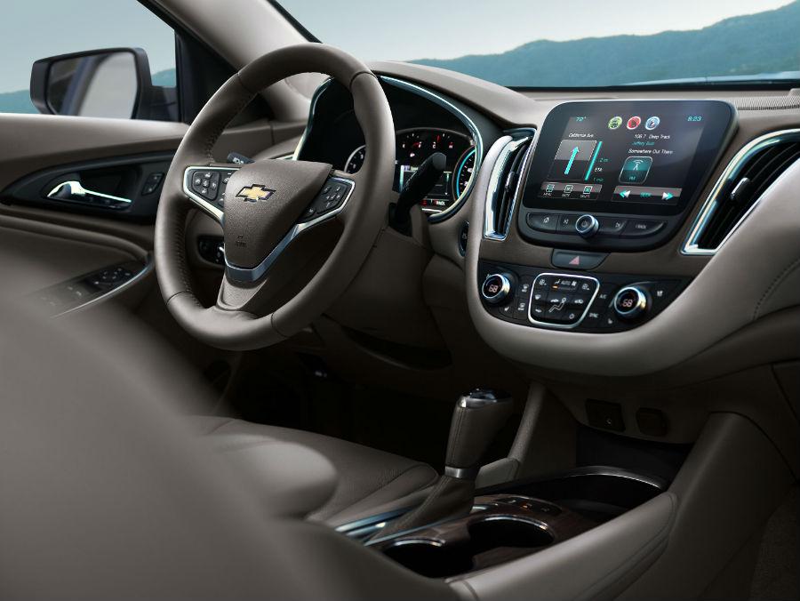 Chevrolet Malibu 2016 interior