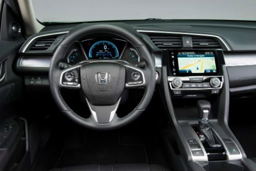 Honda Civic 2016 interior