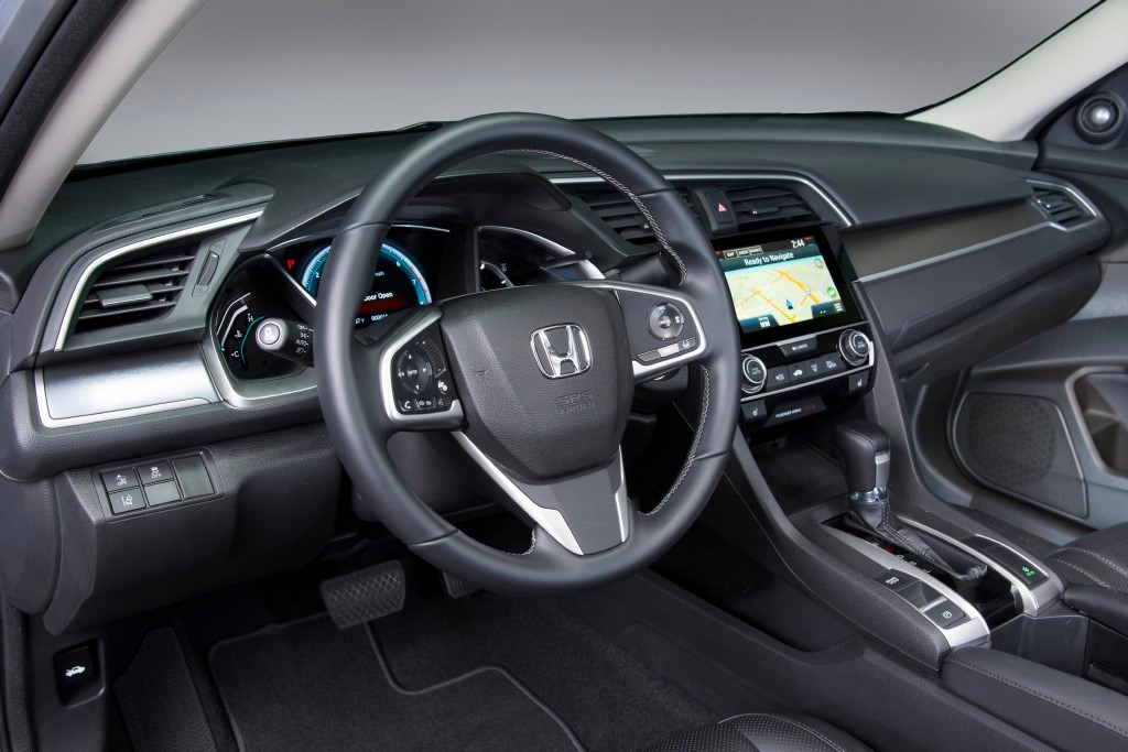 Honda Civic 2016 tablero