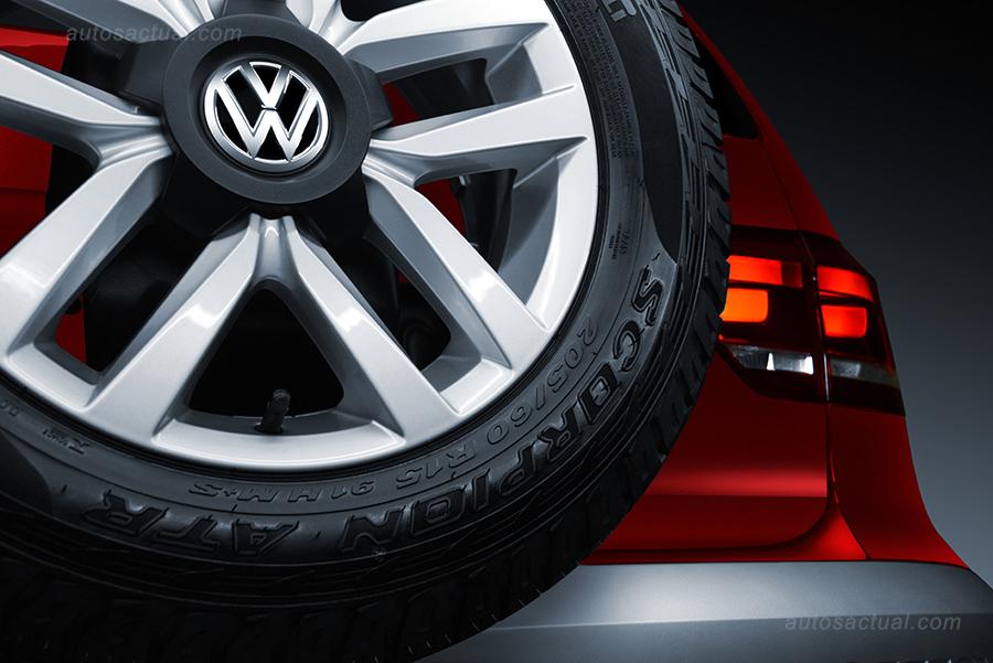 Nuevo Volkswagen CrossFox 2016 en México llanta de ...