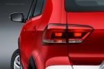Nuevo Volkswagen CrossFox 2016 en México color rojo faros traseros