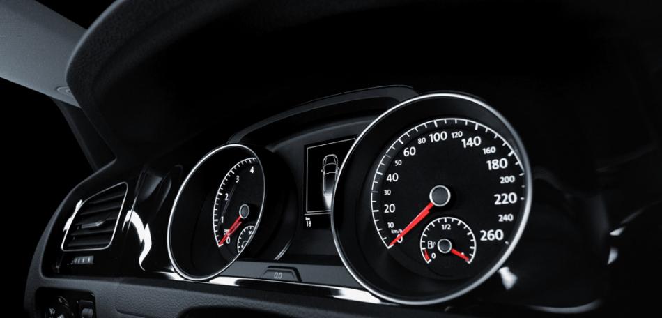 Volkswagen Golf 2016 tablero