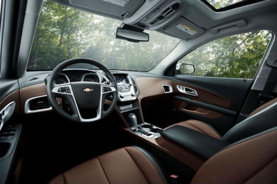 Chevrolet Equinox 2016 interior