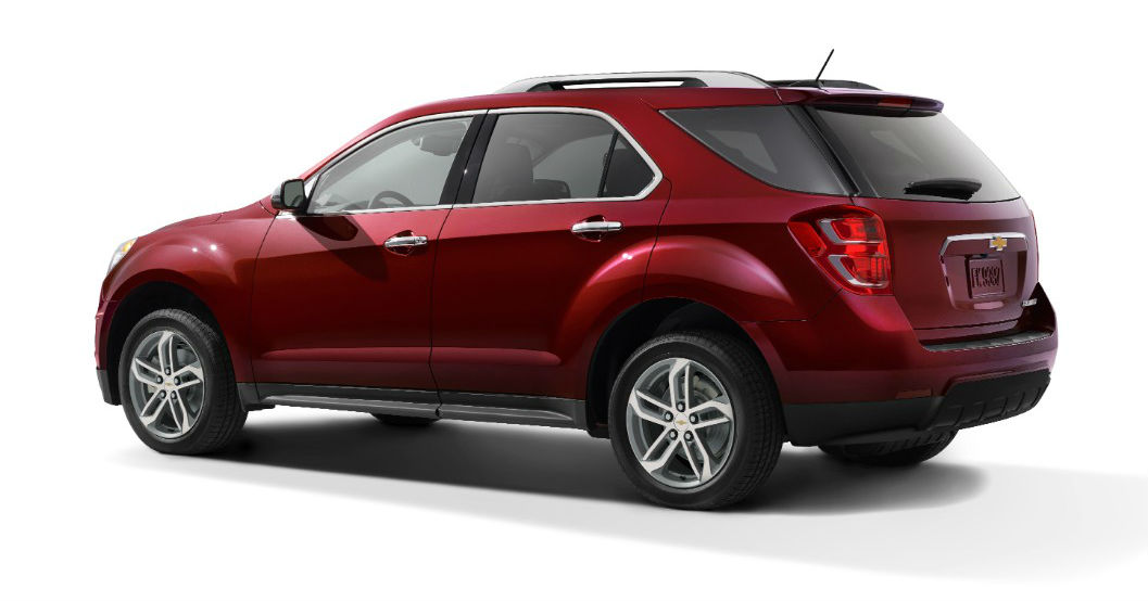 Chevrolet Equinox 2016 vista lateral