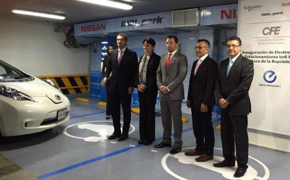 Electrolinera Nissan