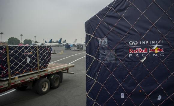 Gran Premio de México Fórmula 1 llegada de autos