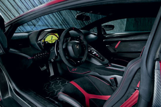 Lamborghini Aventador LP 750-4 SV interior