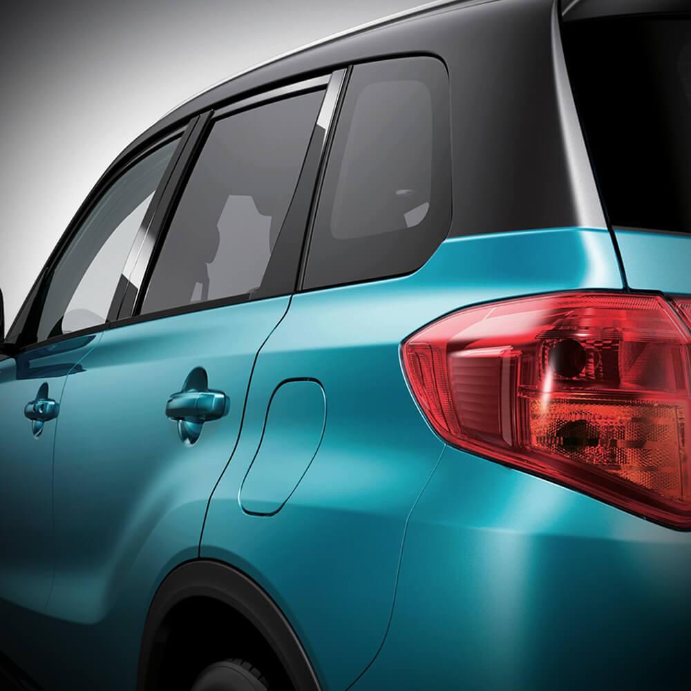 Suzuki Nueva Vitara en México nuevos faros traseros