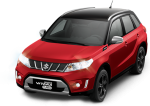 Suzuki Nueva Vitara en México color rojo con negro
