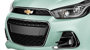 Chevrolet Spark frente color verde