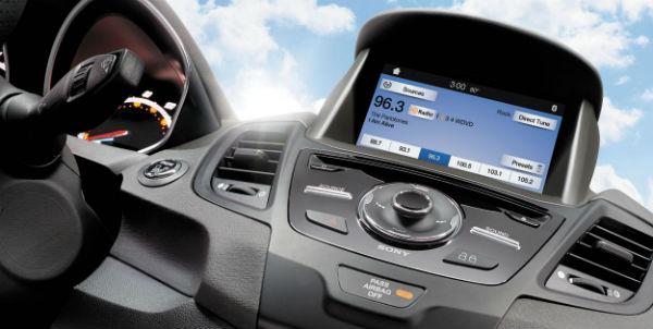 Ford Fiesta 2016 pantalla