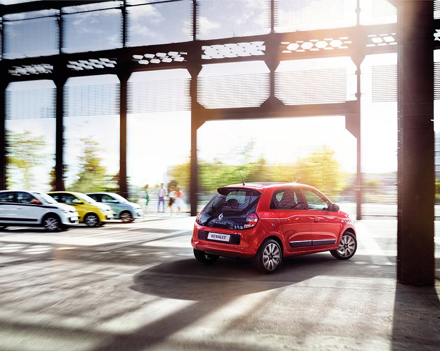 Renault Twingo 2015 rojo