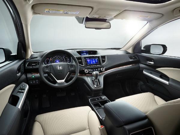 Honda CR-V 2016 interior