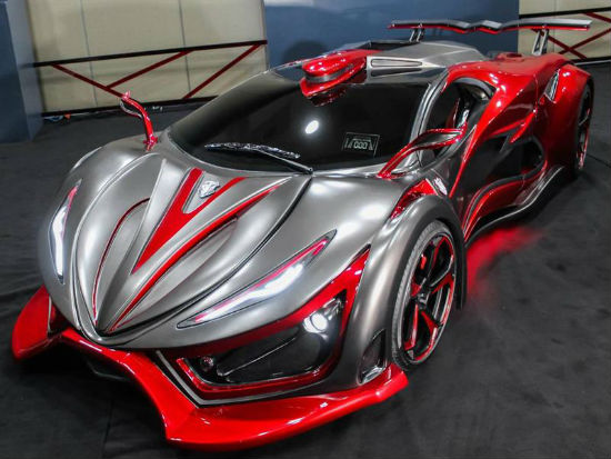 Auto deportivo Inferno