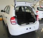 Nissan March Cargo interior