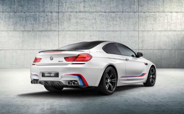 BMW M6 Coupé Competition Edition M Performance vista posterior
