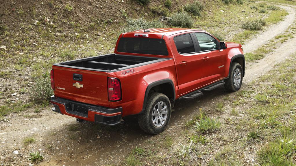 Chevrolet Colorado 2016 vista posterior