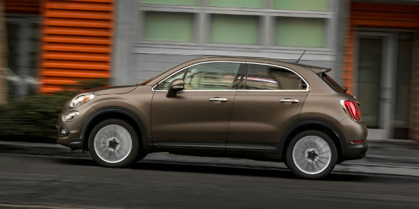 Fiat 500X lateral