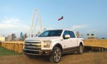 Ford Lobo King Ranch blanco