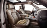 Ford Lobo King Ranch interior