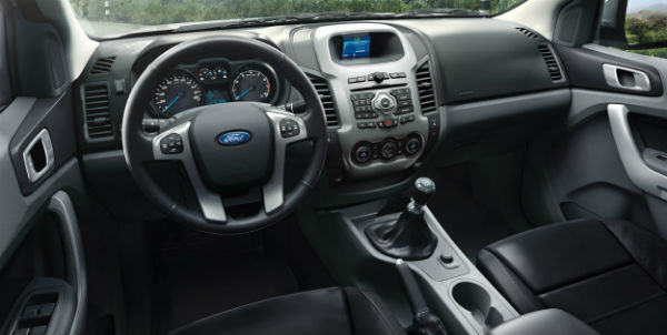 Ford Ranger 2016 interior