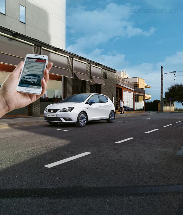 Seat Ibiza Connect 2016 México  con smartphone