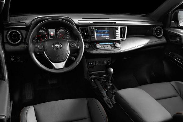 Toyota RAV4 2016 interior - Autos Actual México