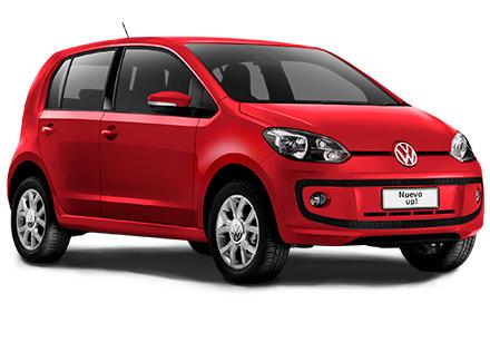 Nuevo Volkswagen Up! para México color rojo