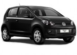 Nuevo Volkswagen Up! para México color negro ninja