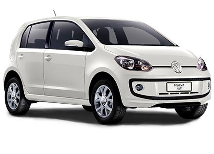 Nuevo Volkswagen Up! para México color blanco candy