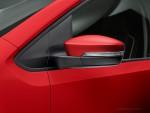Volkswagen Nuevo Up! México color rojo retrovisor con luz
