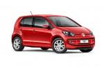 Volkswagen Nuevo Up! México color rojo frente de lado