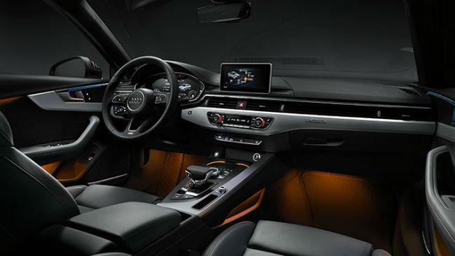 Audi A4 2017 interior