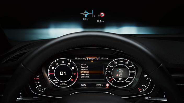 Audi A4 2017 tablero