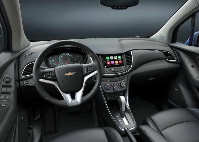 Chevrolet Trax 2017 interior
