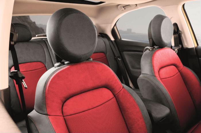 Fiat 500X cubierta asientos