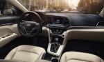 Hyundai Elantra 2017 interior