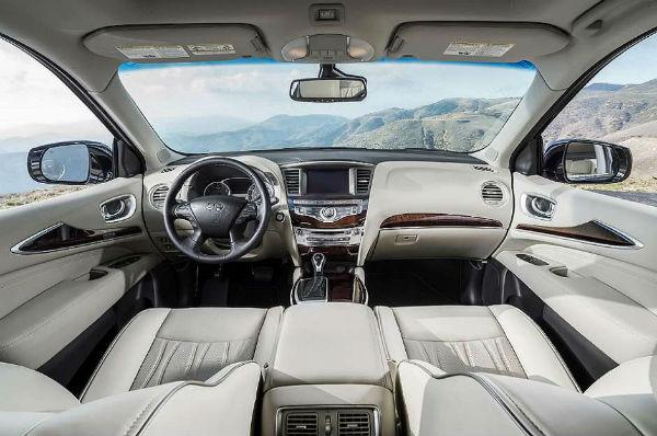 Infiniti QX60 2017 interior