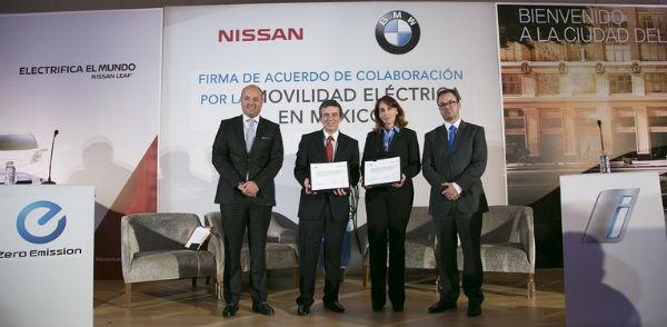 Nissan y BMW alianza en México