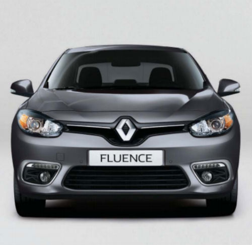 Renault Fluence 2016 frontal